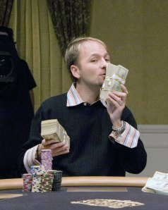 Daniel Negreanu on the TV show 'High Stakes Poker'